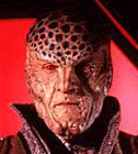 Ambassador G'Kar from Babylon 5 played by Andreas Katsulas