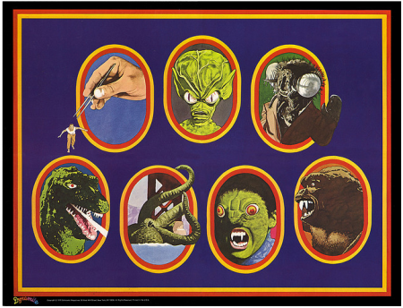 Dynamite Magazine Monster Poster - 1976