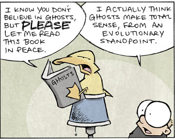 Sheldon: Ghosts Make Perfect Sense - Click to see full comic