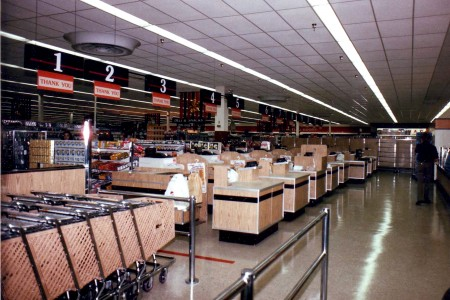 KMart 1985 Checkouts