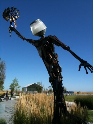 Lamphead Man at Soda Row