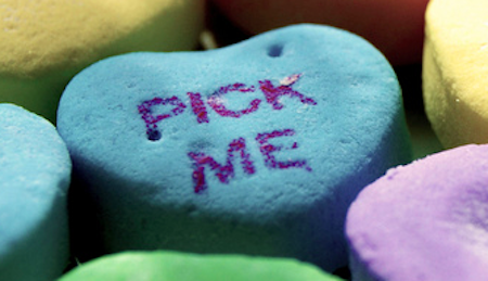 Pick Me Candy Heart by KateeMacG on Flickr