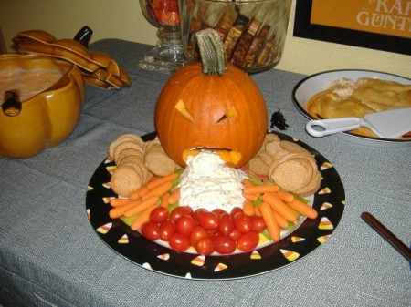 Ranch Dip Puking Pumpkin from Pick Me!
