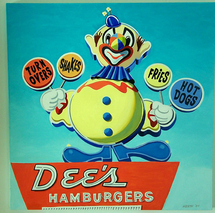 The Dee Burger Clown