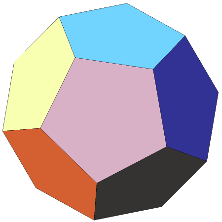 Zeroth stellation of dodecahedron
